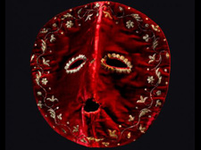 18th Century Masquerade mask, supposedly worn by Gustaf III, king of Sweden<br />© Nordiska Museet